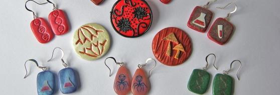 Science jewellery, Rebecca Nesbit