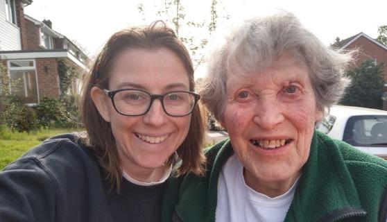 Rebecca and Stella 'Granny' Nesbit