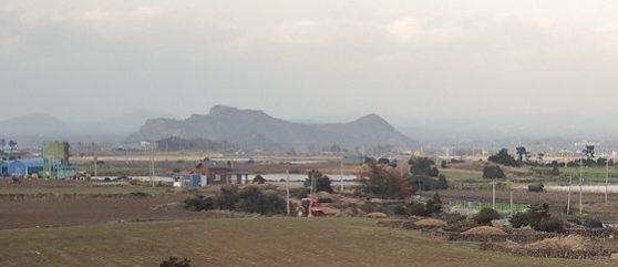 Mount Dan Jeju Island